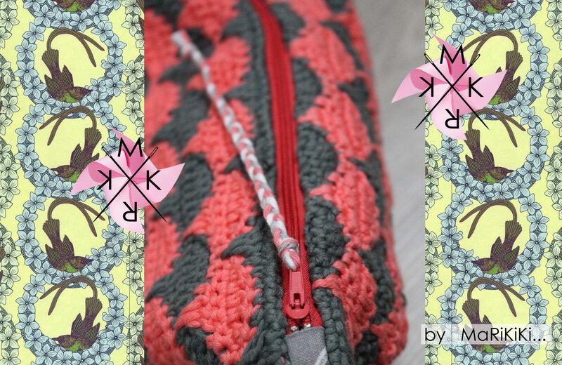 Pochette tricot au crochet 04