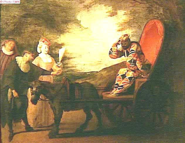 Arlequin, empereur de la lune, Lucien Watteau