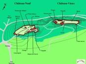 plan châteaux Allinges