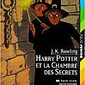 Harry potter et la chambre des secrets, j.k. rowling