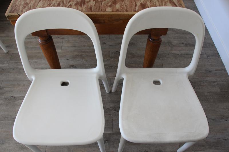 astuce comment nettoyer des chaises