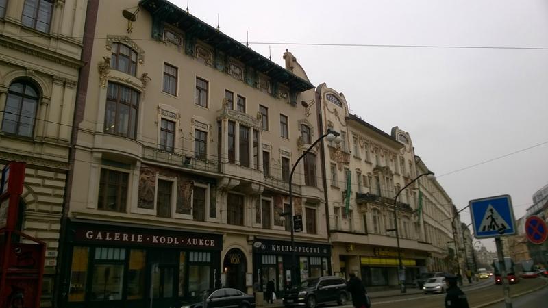 Maisons Praha et Topic, Art nouveau