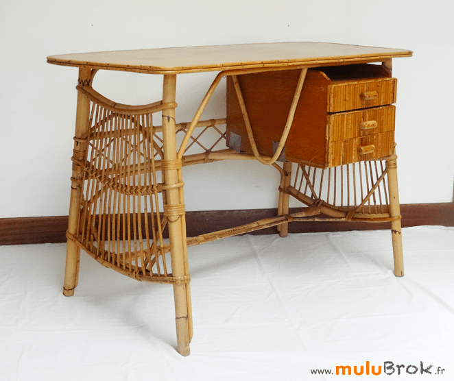 chaise rotin louis sognot