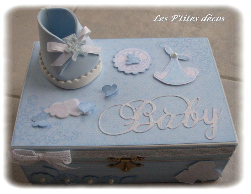 Une nouvelle boite pour un cadeau de naissance  Les P