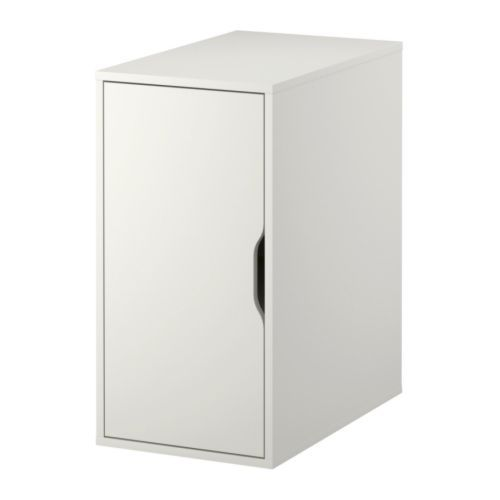 meuble de rangement blanc vika alex 50