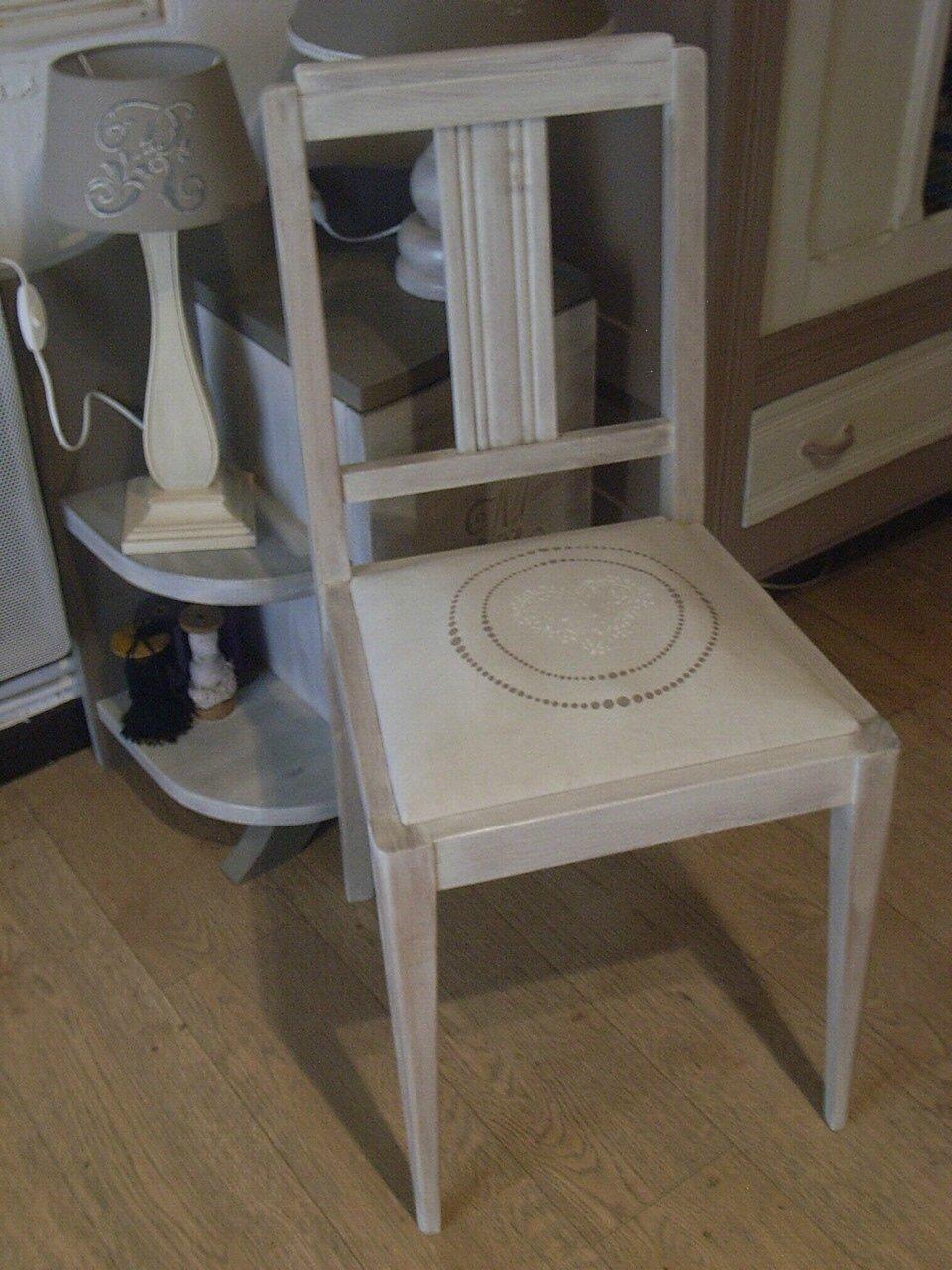 Chaise Ceruse  Décoration Du Bontemps