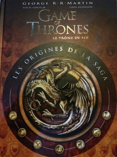 Game Of Thrones : Les Origines De La Saga : thrones, origines, Thrones,, Origines, George, Martin, Monde, Enchanté, Marine