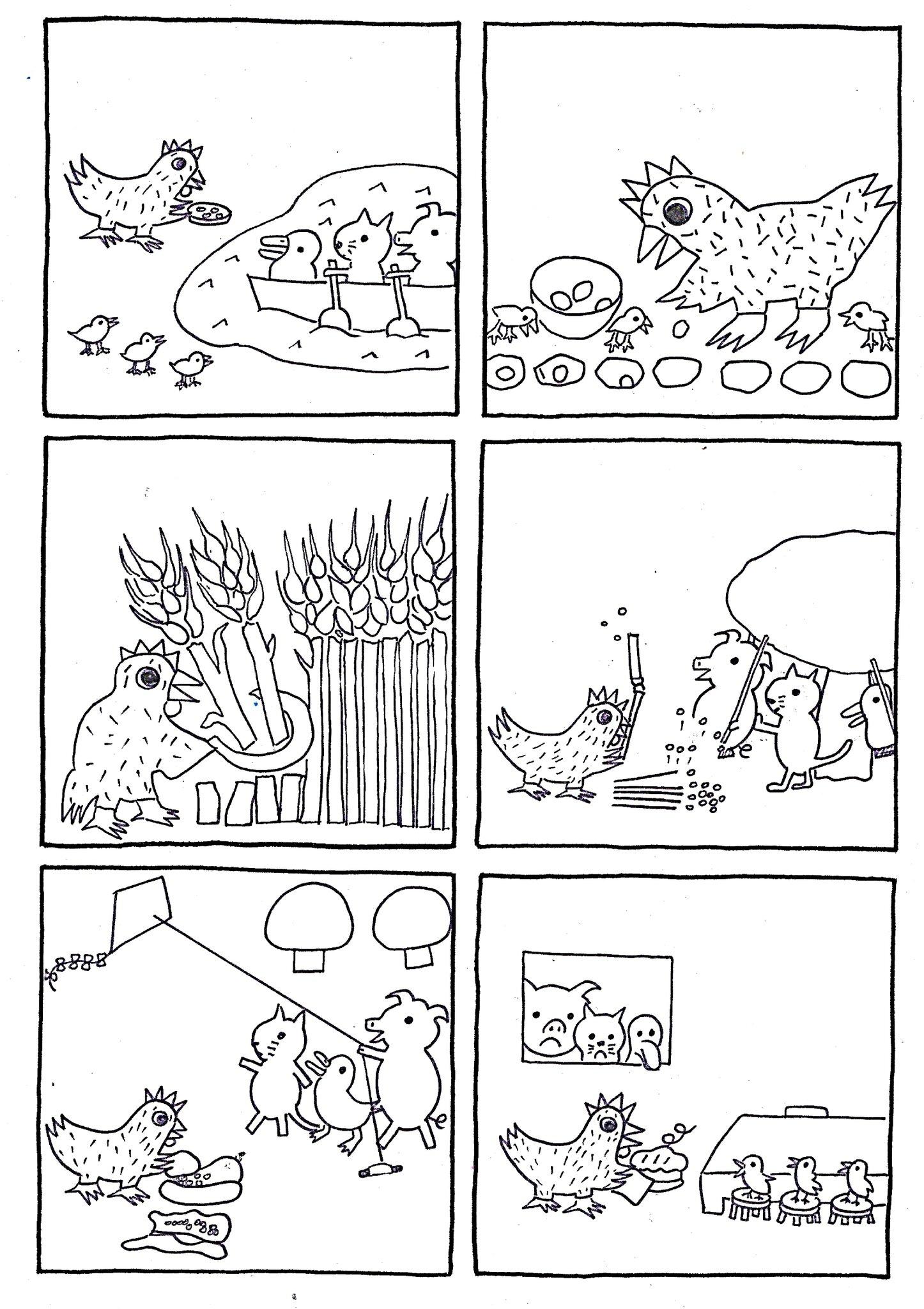 La Petite Poule Rousse Images Séquentielles : petite, poule, rousse, images, séquentielles, Images, Séquentielles, L'album:, Petite, Poule, Rousse, Byron, Barton,, édition, école, Loisirs, Bonjour, Soleil