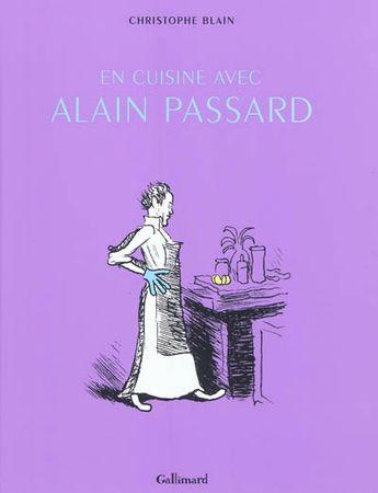 En cuisine avec Alain Passard, Christophe Blain