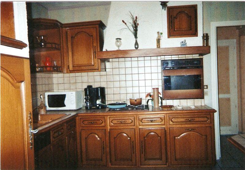 repeindre meuble cuisine en bois