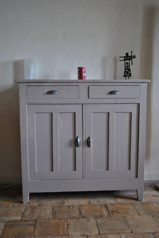 meuble de cuisine brut à peindre