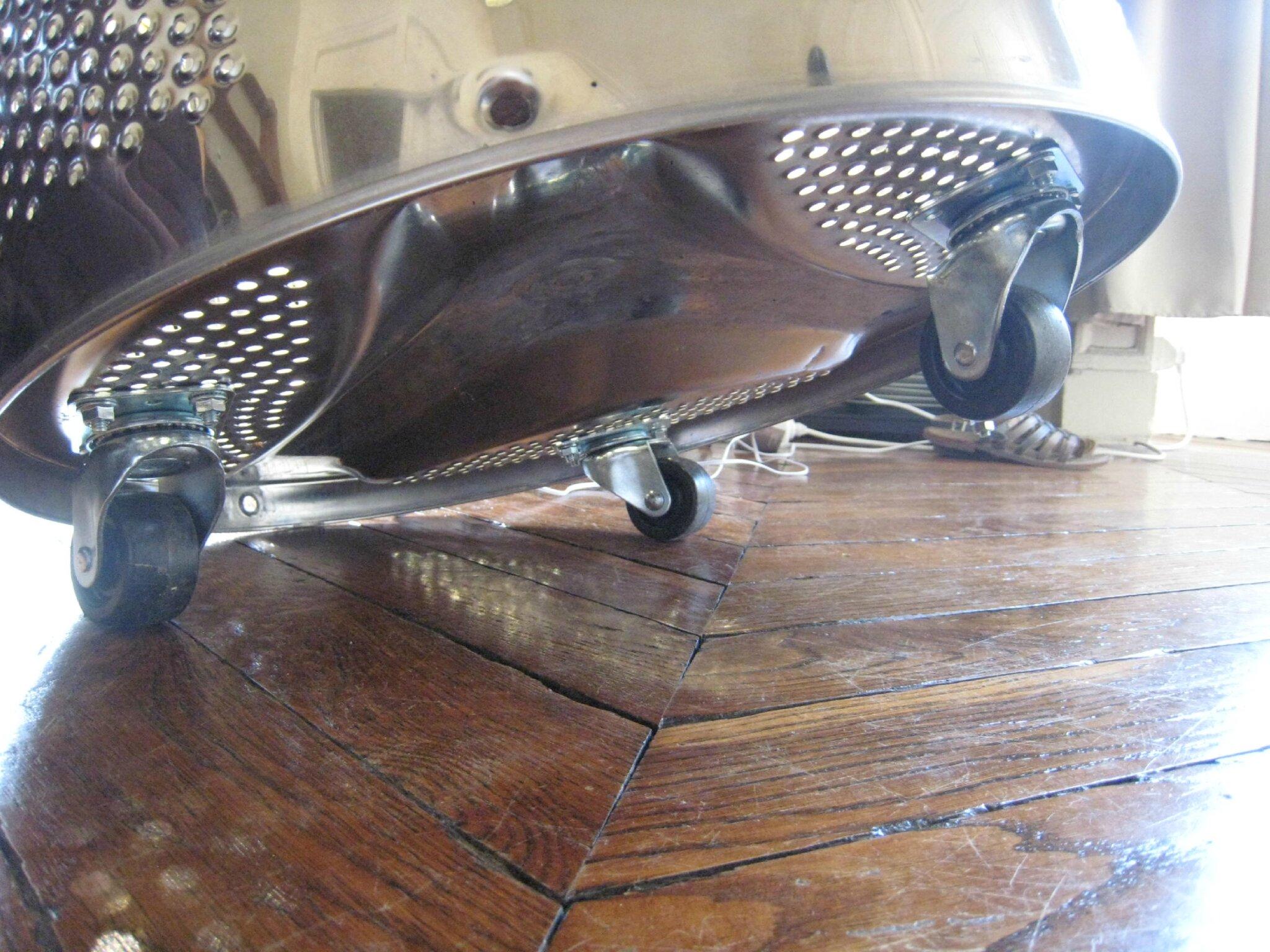une table basse pour Mailys avec un tambour de machine  laver  crations et bricolages dOli