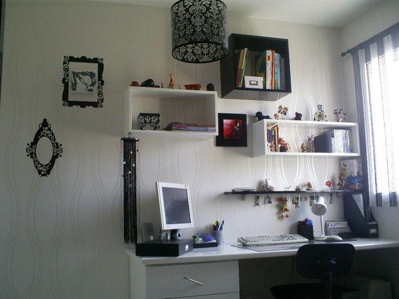 Dcoration Dintrieur Chambre En Noir Et Blanc KrAttitude