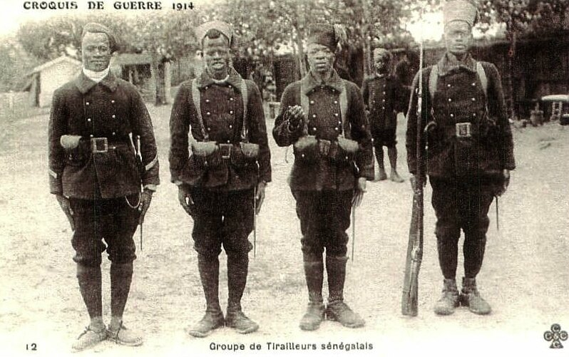 tirailleurs (14) groupe