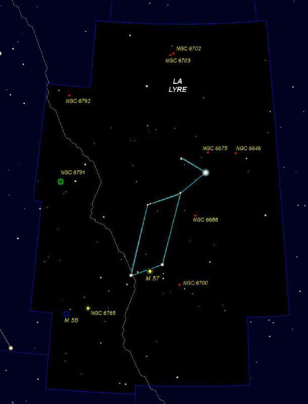 Constellation De La Lyre : constellation, (Lyra), L'oeil, Célestron