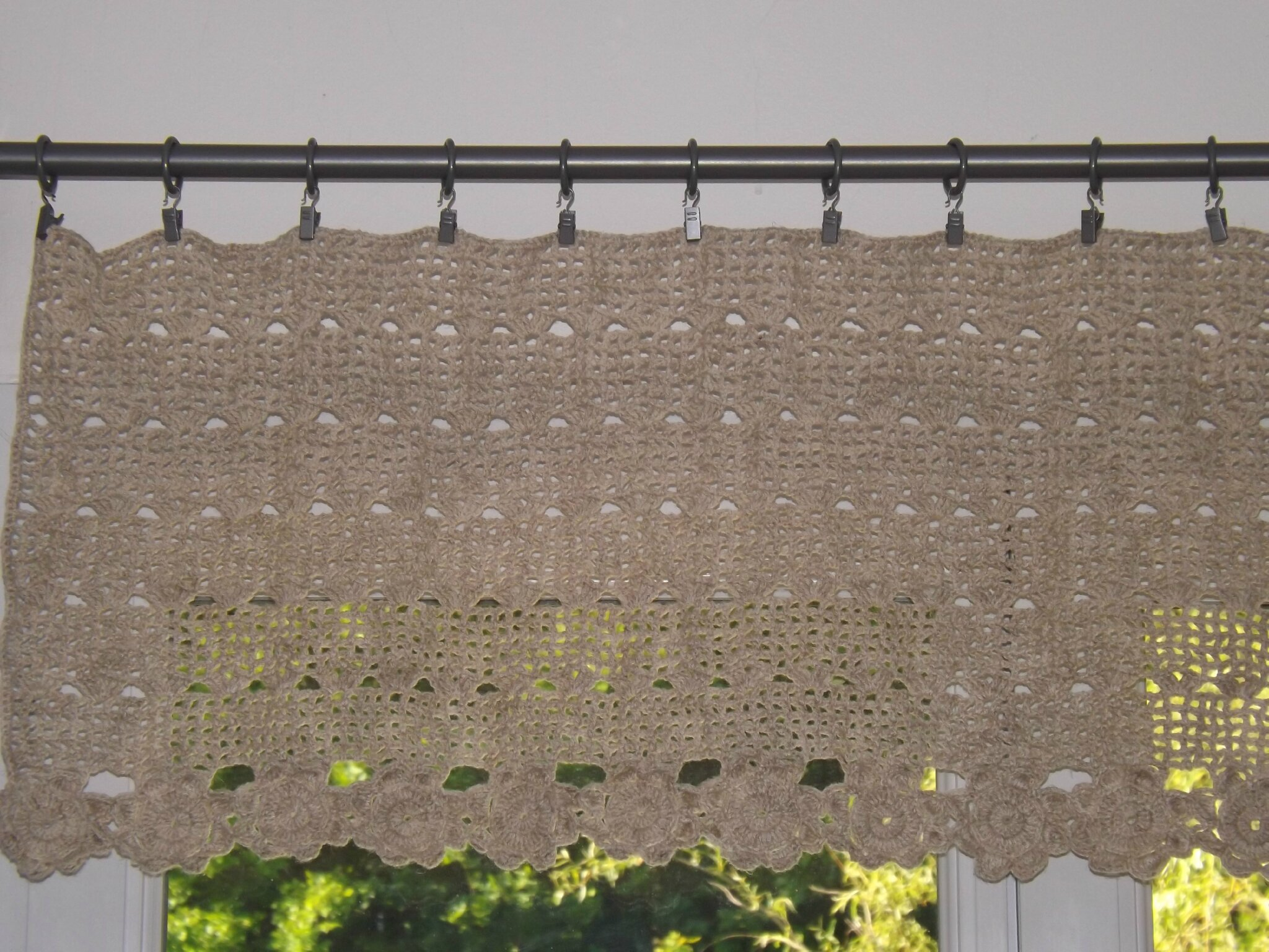 Rideaux De Cuisine Au Crochet