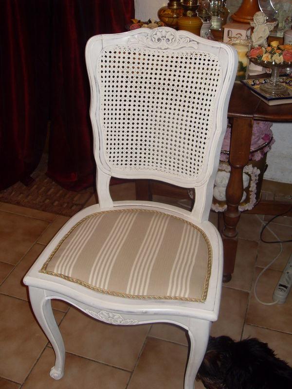 Chaise relooke suite  La maison joyeuse