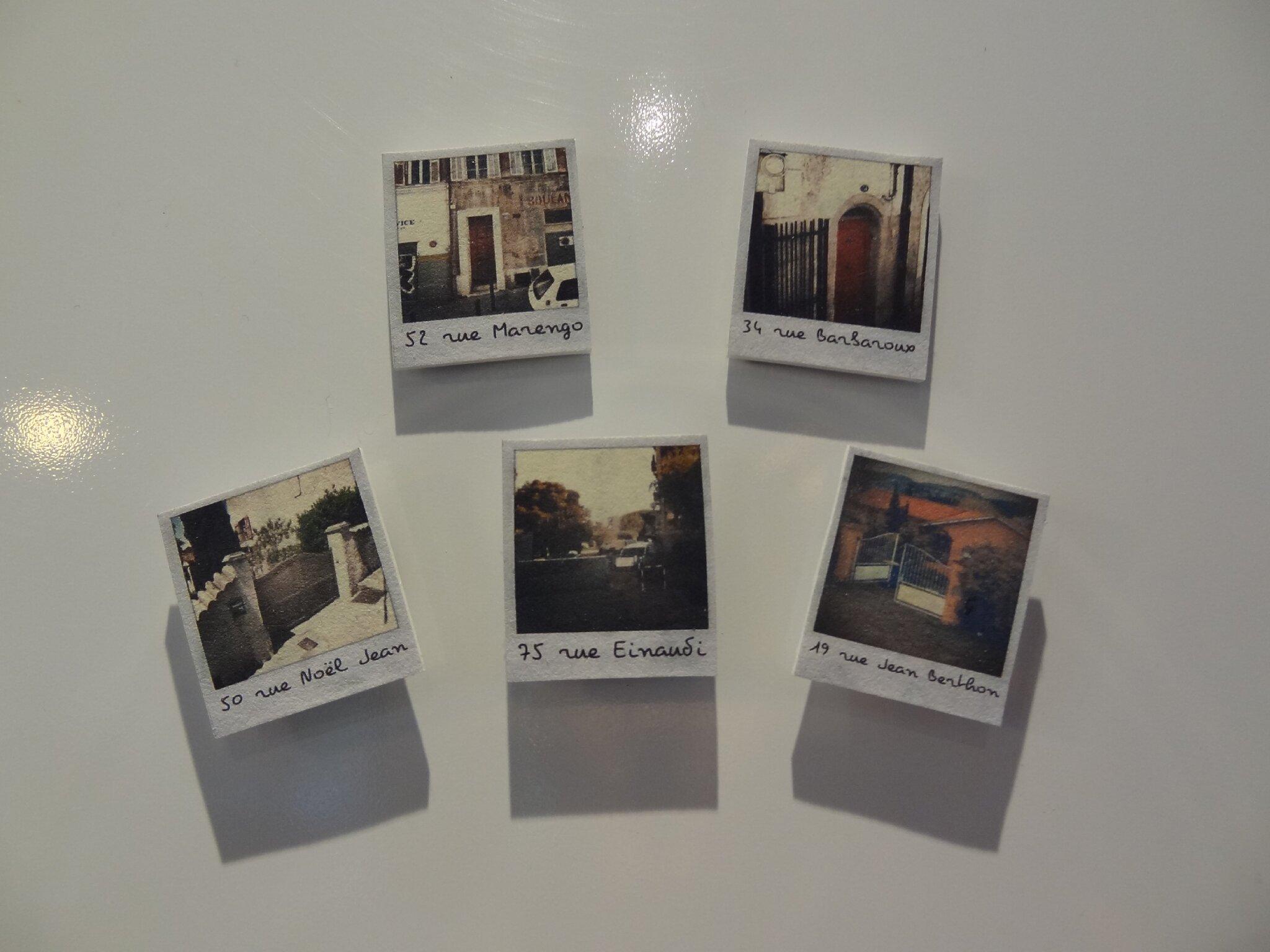 super magnet polaroid en plastique fou un petit tuto de l accessoire mt01