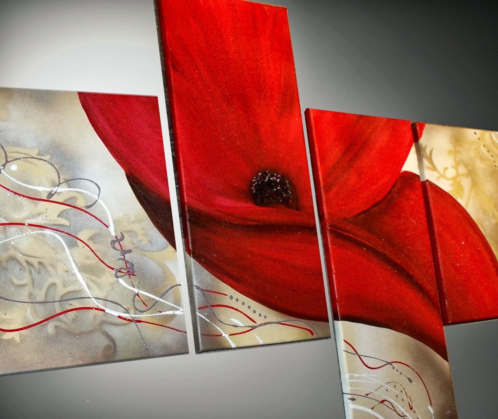 tableau art deco moderne peinture abstraite