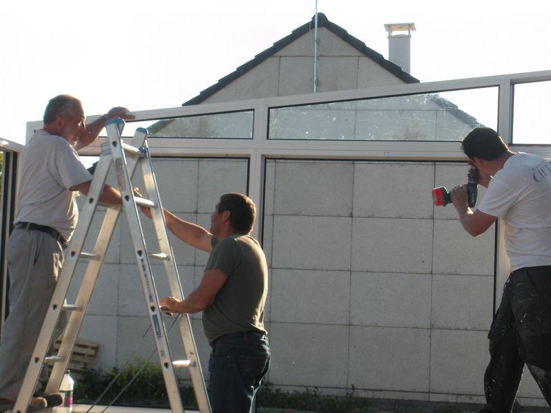 Veranda Notre Blog L Avancement De Notre Maison Castor A Evin Malmaison Dans Le Nord Pas De Calais
