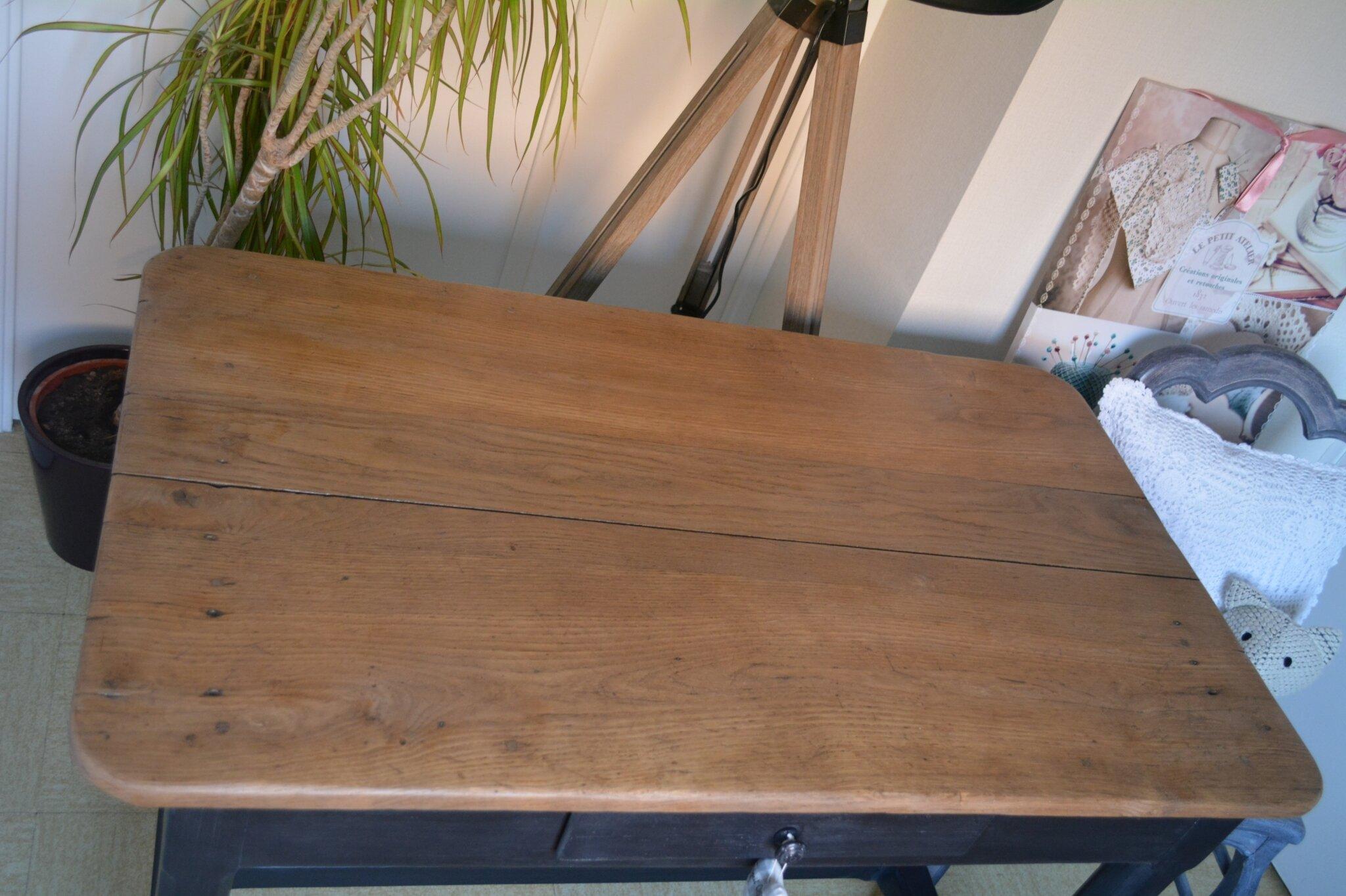 table haute cuisine bois