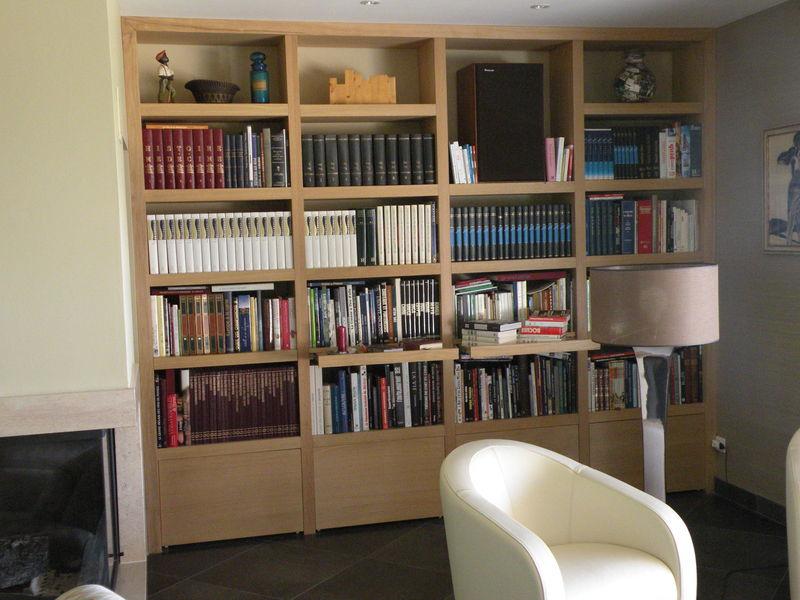 bibliothque contemporaine  MENUISERIEEBENISTERIE Dominique LATHUILLIERE