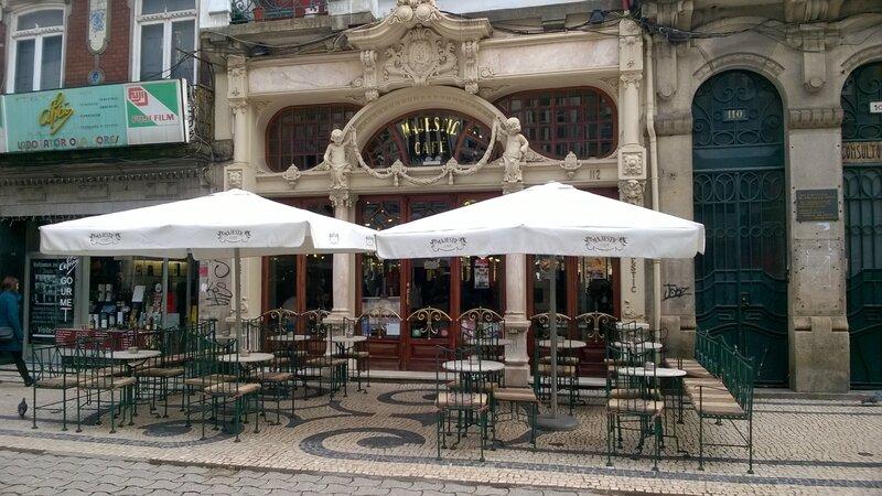 Façade du café Art Nouveau le Majestic