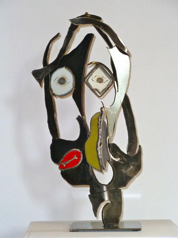 PORTRAITS  Album photos  GIL S  Sculpteur Mtal  Acier inox art sculpture