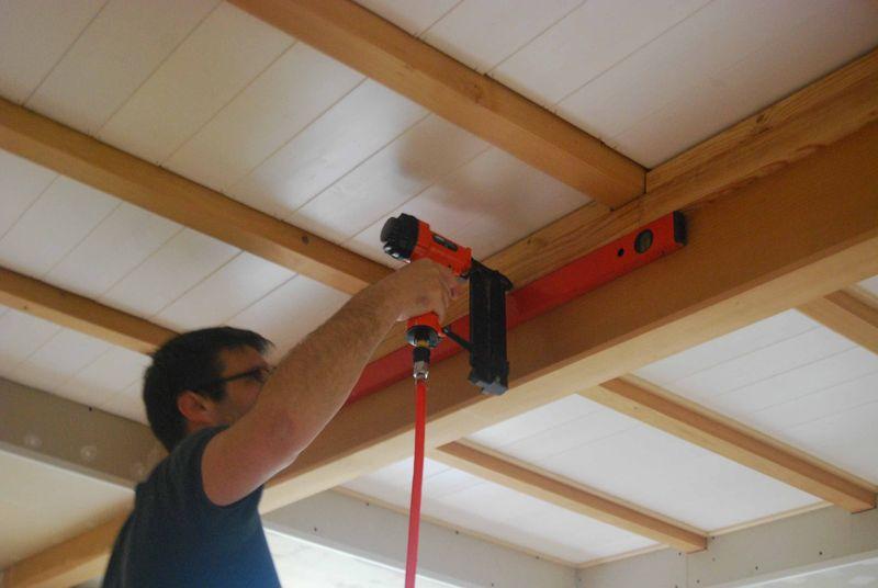 Le Plafond Du Salon Vido Fait Par Nous Mission Renovation