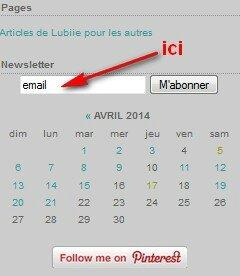 newsletter lubiie