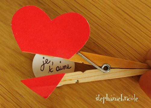 Ide Pour La Saint Valentin Des Petits Marque Pages Ou