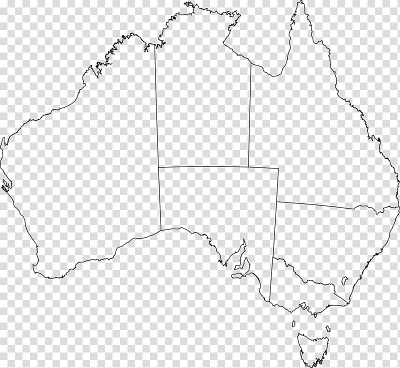 Flag of Australia Blank map , australian map outline PNG