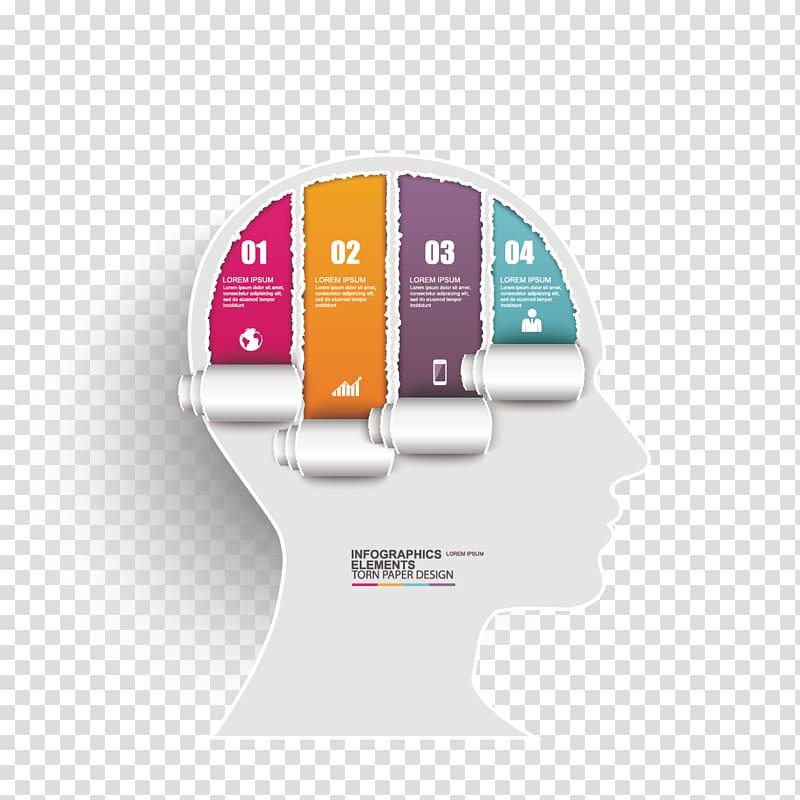 infographics elements illustration paper