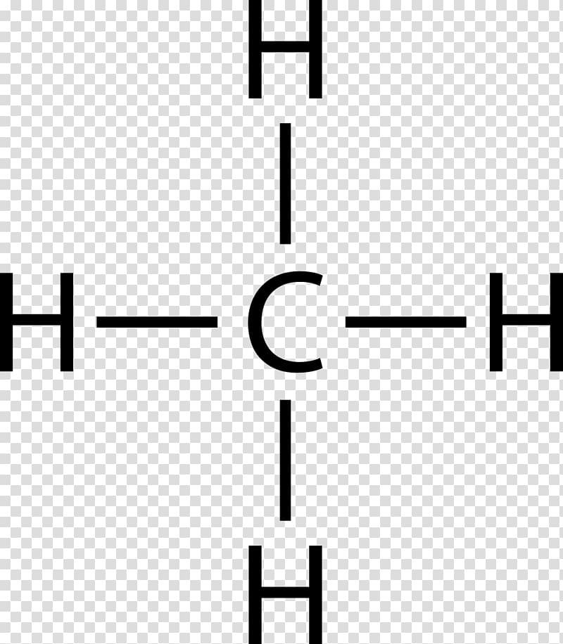 Lewis structure Molecular geometry Methane Molecule