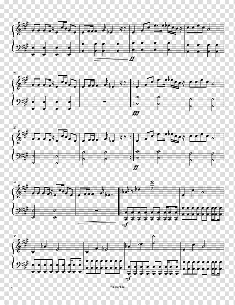 Easy Alan Walker Piano