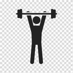 Man lifting barbell Computer Icons Physical exercise Dumbbell Fitness Centre Exercise Weight Icon transparent background PNG clipart HiClipart
