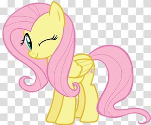 yellow my little pony