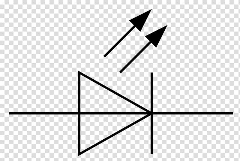 Electronic symbol diode Wiring diagram Light-emitting