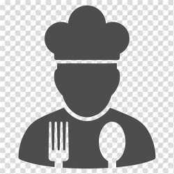 Silhouette of chef illustration Chef s uniform Cooking Computer Icons Restaurant Chef Icon transparent background PNG clipart HiClipart