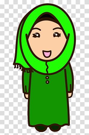 Keluarga Muslim Png : keluarga, muslim, Islam, Muslim, Allah, Cartoon,, Transparent, Background, Clipart, HiClipart