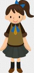 Student Cartoon student transparent background PNG clipart HiClipart
