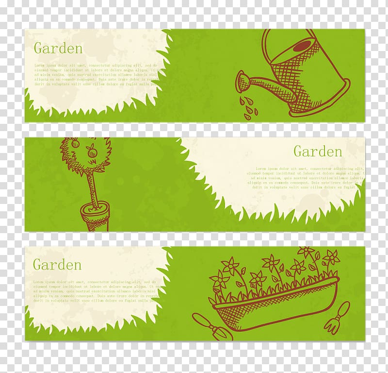 four green stripes paper