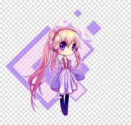Mangaka Anime Chibi Drawing Kavaii next door girl transparent background PNG clipart HiClipart