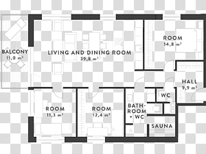 Floor Plan Apartment Blueprint Interior