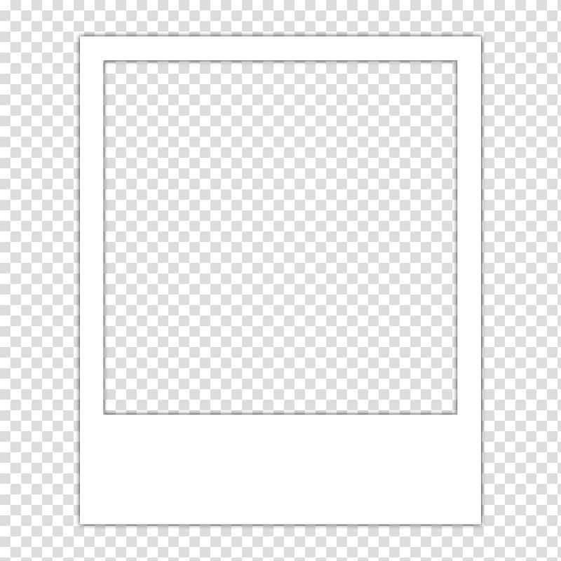 White instant frame, Frames Polaroid Corporation Drawing