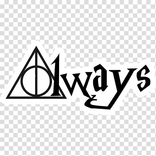 Always text on white background, Harry Potter and the