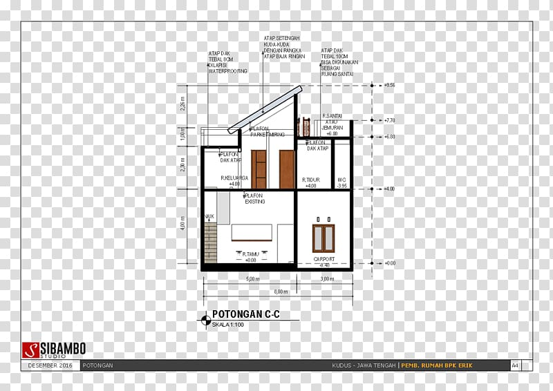 ketebalan kuda baja ringan floor plan furniture house design transparent background png