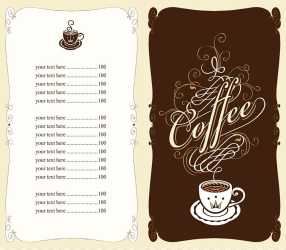 Coffee template Coffee Tea Cafe Fast food Menu Menu design points transparent background PNG clipart HiClipart
