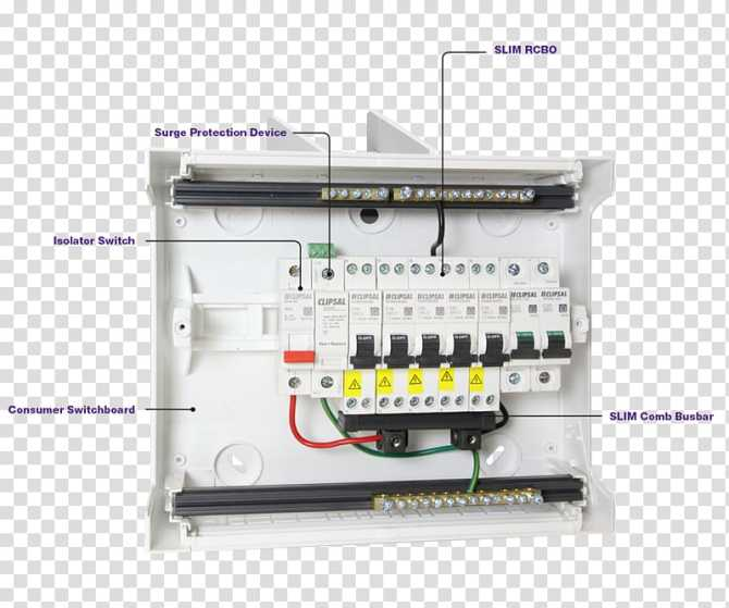 electric switchboard circuit breaker wiring diagram residual