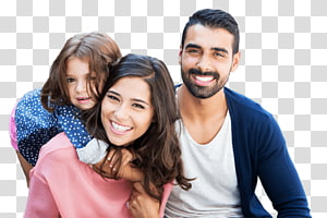 happy family transparent background